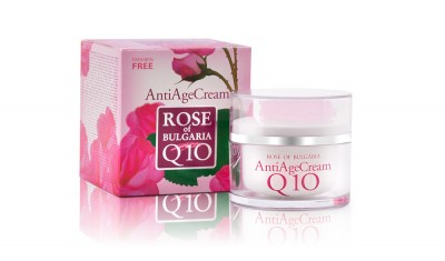 Anti Age Cream with Q10 and Rose Water Rose Of Bulgaria 50 ml