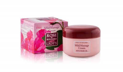 Mild Massage Cream with Rose Water Rose Rose Of Bulgaria 330 ml