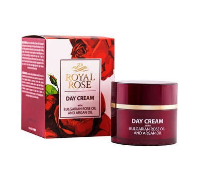 Day cream with Rose and Argan Oil Royal Rose 50 ml