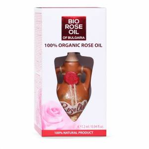 Organic Bulgarian Rose Oil  1,2 ml