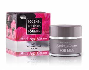 ANTI AGE CREAM FOR MEN ROSE OF BULGARIA