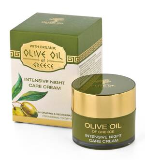 Intensive night care cream for normal to dry skin Olive Oil of Greece 50 ml