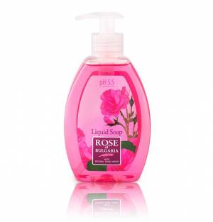 Liquid Soap with Rose Water, PH 5,5 Rose Of Bulgaria 300 ml