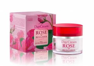 Day Cream with Rose Water and  Extract of Herbs Rose Of Bulgaria 50 ml